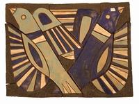 Tableau twee vogels